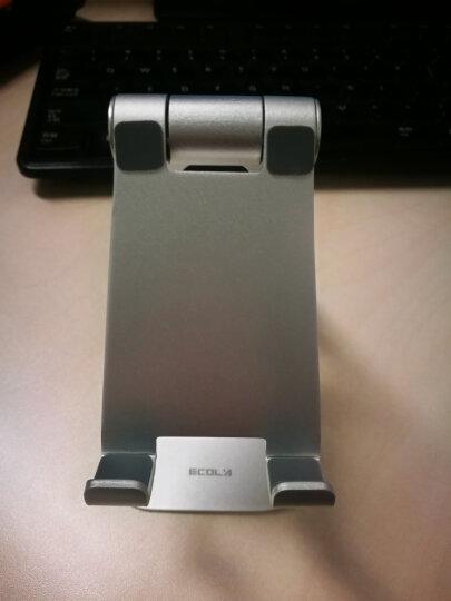 宜客莱(ECOLA)手机支架 平板支架 床头 桌面折叠支架铝合金双轴270°调节通用懒人支架A06P 双轴旋转折叠A06PSV 晒单图