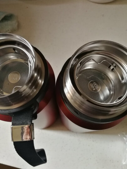 慕厨(Momscook) 不锈钢保温杯 304真空直身杯带盖便携 时尚防漏水 600ml 晒单图