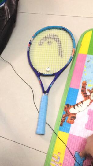 门特卡洛网球拍 碳素复合一体初学学生社团团购网球拍 白蓝+红一对装 晒单图