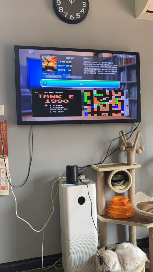 【自营配送】小霸王 G60四核智能游戏机体感家用高清4K电视游戏主机 有线手柄经典红白机 双手柄+体感游戏手柄+遥控器 晒单图