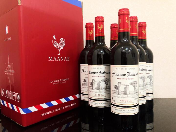 【超市红酒】法国原瓶进口红酒凯旋干红葡萄酒礼盒750ml整箱6支装 晒单图