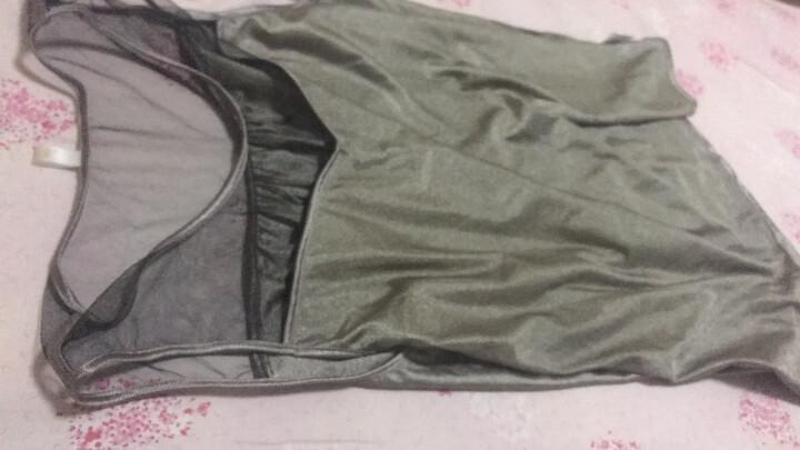 安美宝  防辐射服孕妇装内穿孕妇防辐射服吊带孕妇防辐射银纤维电脑防护衣服四季黑纱款打底背心 全银纤维吊带3XL 晒单图