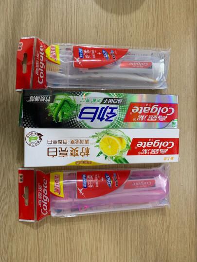 高露洁(Colgate) 劲白小苏打 牙膏套装 120g×4(莹润净白,送赠品 ) 晒单图
