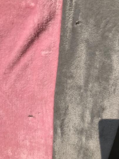 雀神四件套床上床品套件珊瑚绒四件套床单被套法兰绒冬季保暖1.8m加绒床上用品纯色 牛奶咖啡 1.5床被套2*2.3 晒单图