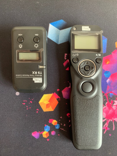 品色T9快门线佳能5D4快门遥控器无线定时快门适用5D3 70D 6D2 60D 500D E3接口 晒单图