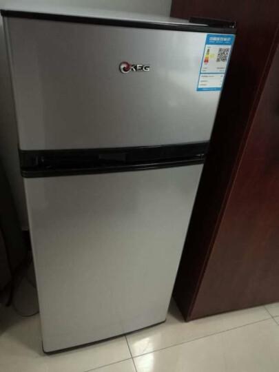 韩电(KEG)122升小型双门电冰箱 迷你节能 办公居家便捷之选 环保内胆 银色 BCD-122JD 晒单图