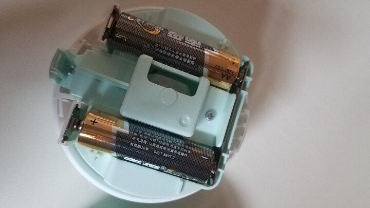 得力(deli)强吸力桌面吸尘器 迷你键盘除尘清洁助手 橡皮屑清洁器 办公用品 浅绿18880 晒单图