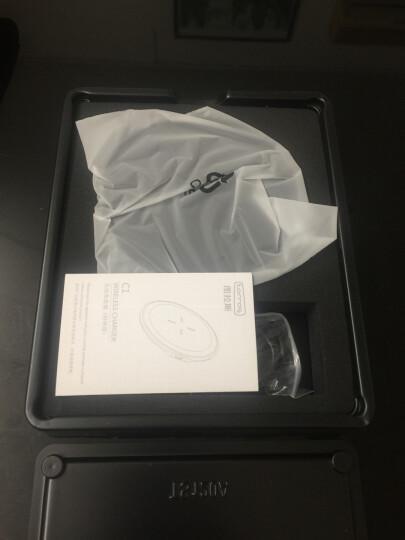 图拉斯 苹果X无线充电器iPhoneX/Xs Max/XR/8plus手机快充三星S9小米无限充底座 黑色【7.5W升级款】|苹果快充专用|店长推荐 晒单图