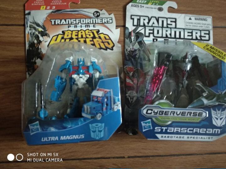 孩之宝(Hasbro) 变形金刚玩具 TFP领袖之证狩魔之战 野兽猎人 儿童玩具 警车A1973-士兵级 晒单图