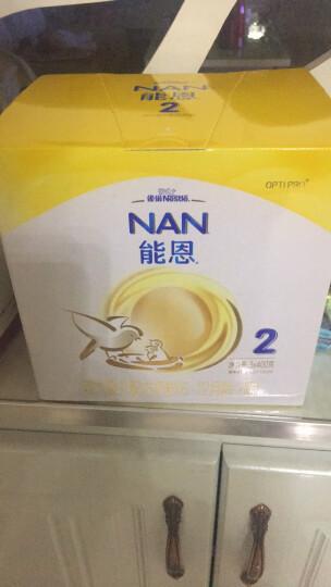 雀巢(nestle)能恩 婴儿配方奶粉 1段(0-6个月婴儿适用)1200克三联装 晒单图