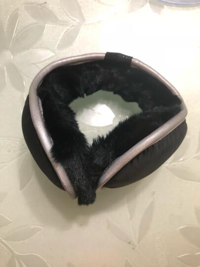 澄湖螺 冬季防寒保暖耳罩耳包 保暖耳套男女情侣款耳暖3M反光耳捂 可折叠可调节 黑色暗格 晒单图