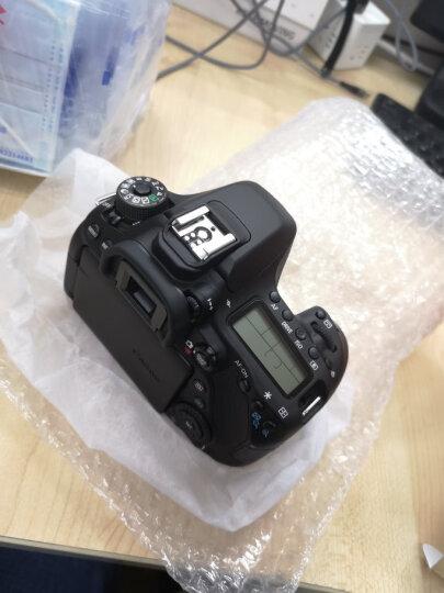 佳能(CANON)EOS 80D 单反数码相机 中端照相机 佳能501.8STM定焦人像镜头 官方标配(不含礼包) 晒单图
