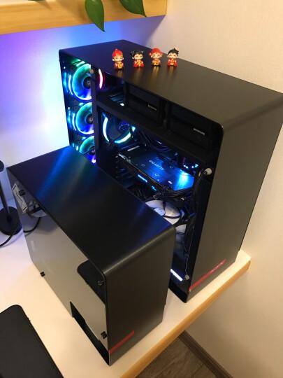 迎广(IN WIN)901 曜石黑 迷你机箱(支持MINI ITX主板/铝合金/钢化玻璃/双面侧透/USB3.0 *2 ) 晒单图