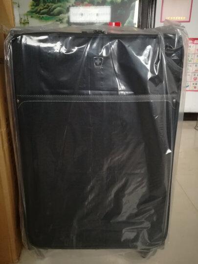 瑞动(SWISSMOBILITY)拉杆箱30英寸差旅大容量行李箱 防泼水静音万向轮旅行箱男女 5560黑色 晒单图