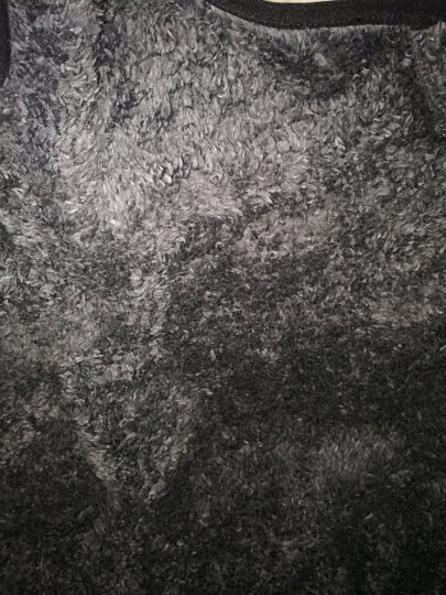 马甲男加绒2017秋冬新品休闲立领保暖抓绒冲锋衣中老年人男士打底棉背心开衫无袖外衣马夹 卡其MJN1373 L 晒单图