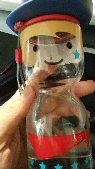 乐扣乐扣 国家脸谱娃娃杯 创意防漏运动水壶 果汁杯 水杯 杯子 塑料杯 430ml ABF669M 晒单图