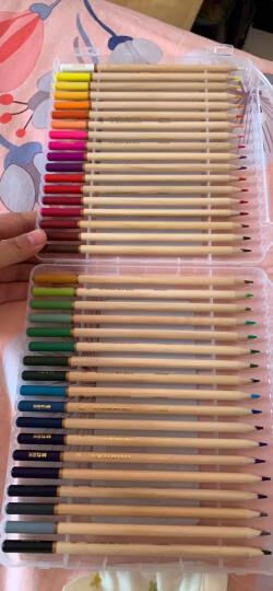 晨光(M&G)考级系列36色油画棒丝滑蜡笔学生美术绘画笔(内赠油画棒2支+削笔器1支) 36支/盒AGMY5814 晒单图