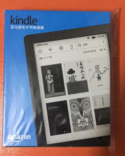 【套装】kindle 全新入门款升级版6英寸电子书阅读器 黑色+机灵狗保护套 (颜色随机) 晒单图