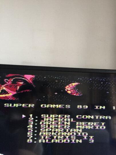小霸王游戏机D99经典8位黄卡红白机 双人手柄怀旧游戏机 电视游戏机电玩 儿童玩具 D99标配+500卡+208卡+89卡 晒单图