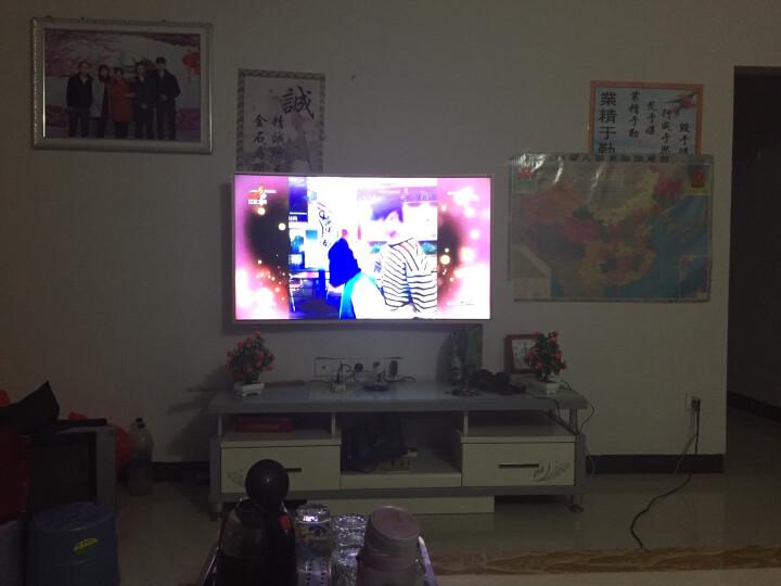 康佳(KONKA)55英寸4k超高清31核智能网络曲面液晶电视机QLED55S61U 晒单图