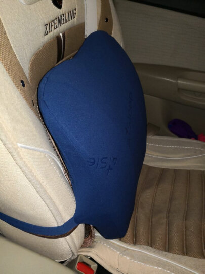 睡眠博士(AiSleep)记忆棉坐垫椅垫 学生办公休闲透气坐垫教室椅子凳子垫子宿舍椅垫 夏季防滑屁股垫 晒单图