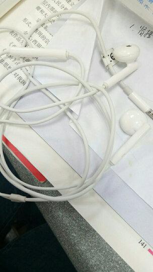 华为(HUAWEI)耳机原装入耳式有线手机p9/10plus/mate9/10pro荣耀7C/V8 白色 晒单图