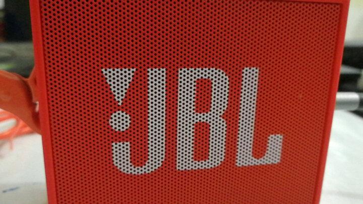 JBL GO 音乐金砖 便携式蓝牙音箱 低音炮 户外音箱 迷你小音响 可免提通话 活力橙 晒单图