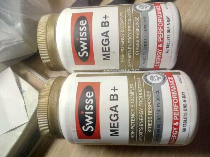 澳洲Swisse MEGA B+ 复合维生素B族 增强免疫力 改善营养 维生素片 小家庭套餐(男女士加儿童)复合维生素 晒单图