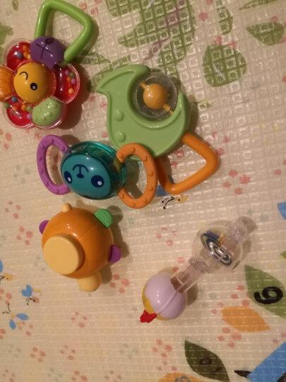 澳贝(AUBY)益智玩具婴儿摇铃牙胶手摇铃宝宝新生婴儿玩具0-1岁摇铃牙胶礼盒 新年礼物男孩女孩玩具463129DS 晒单图