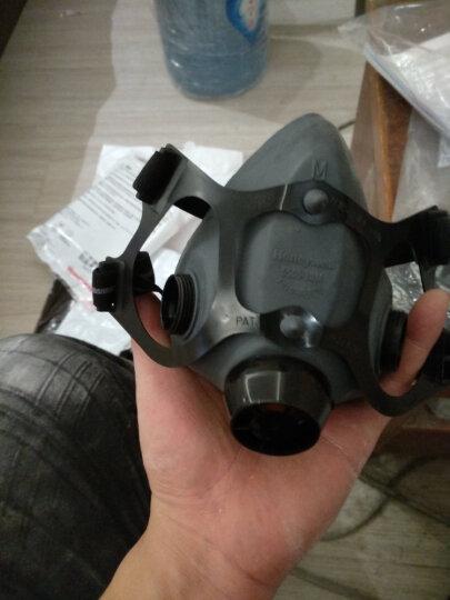 霍尼韦尔(Honeywell) 防毒面具套装 防有机蒸汽 工业粉尘 喷漆 焊接 打磨 农药  防尘面罩 5500系列 1套 晒单图
