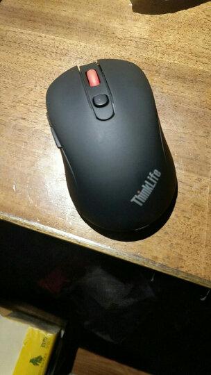 ThinkPad 联想(Lenovo)笔记本台式电脑鼠标 USB有线/无线/蓝牙充电多种 【无线】蓝光鼠标 陨石银(164) 晒单图