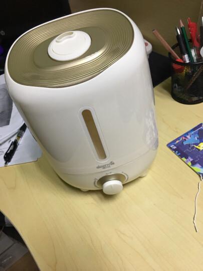 德尔玛(Deerma)加湿器 3L容量迷你 家用静音空气加湿 卧室办公室香薰增湿 母婴适用 DEM-F420(金色) 晒单图
