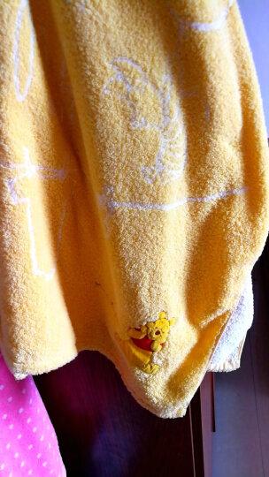 迪士尼(Disney) 维尼熊气球无捻纱浴巾 纯棉儿童大浴巾 毛巾被 儿童礼物 幼儿园 Y黄色1条 80*150cm 晒单图