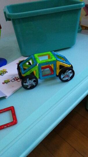 铭塔128件套磁力片积木玩具 儿童男孩女孩拼装磁性棒百变提拉建构片 吸铁石哒哒搭智力收纳盒装 晒单图