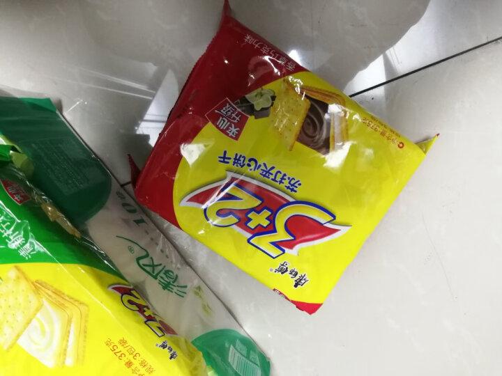 康师傅3+2苏打饼干香草巧克力375g(新老包装随机发送) 晒单图