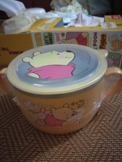 【韩国进口】迪士尼(Disney)儿童筷子儿童餐具米奇学习筷宝宝餐具训练筷子(配便携盒) 晒单图