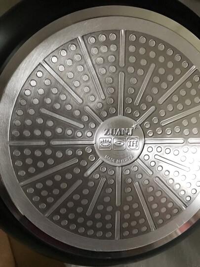 钻技(ZUANJ) 进口不粘锅不粘平底锅厨房锅具30cm电磁炉炒锅 晒单图