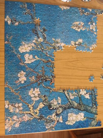 古部玩具 成人拼图1000片 典藏版世界名画油画1000片拼图-杏花11CF01K2006 晒单图