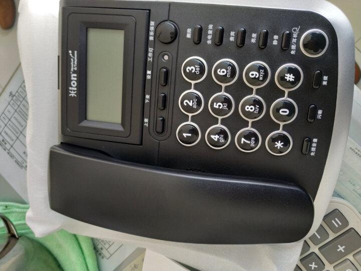 北恩(HION)V200H耳机电话机商务话务耳麦话务员电话适用于话务员/客服/呼叫中心办公固定有绳电话机座机 晒单图