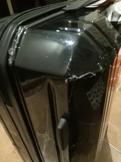 爱华仕(OIWAS)万向轮学生行李箱男 德国拜耳PC自营旅行密码箱 登机箱6176 商务拉杆箱 20英寸粉红色 晒单图