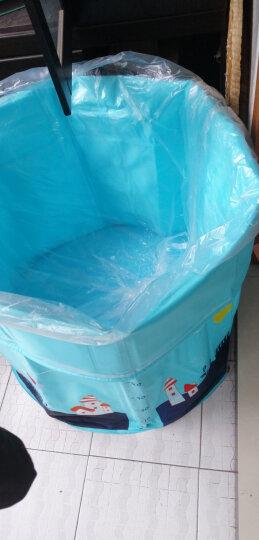 诺澳 婴儿游泳池一次性水疗袋 浴膜塑料袋浴袋 支架游泳池/充气游泳池/宝宝沐浴桶专用 (120*260cm)10个分装 晒单图