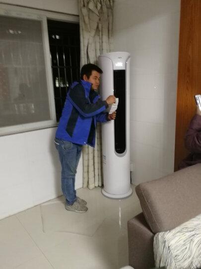 (AUX)奥克斯立式空调2p/3匹变频柜机冷暖一级智能APP控制空调立柜式客厅 圆柱形柜机空调 大3匹变频一级72LW/BPR3YC700(A1) 晒单图
