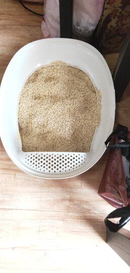 美卡 中号通用型蛋式猫厕所猫砂盆 宠物用品 咖啡色 晒单图