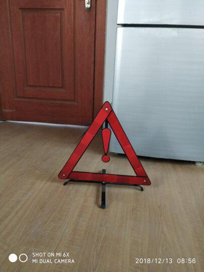 悦卡(YUECAR)三角警示牌 汽车反光三脚架车检年检三角架应急救援汽车用品 晒单图