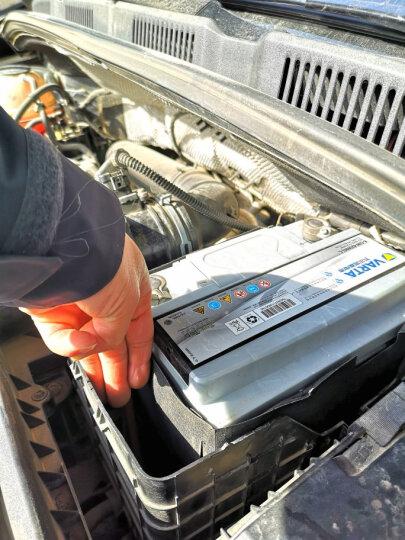 瓦尔塔(VARTA)汽车电瓶蓄电池银标20-75 12V 雪佛兰科帕奇11款进口 以旧换新 上门安装 晒单图
