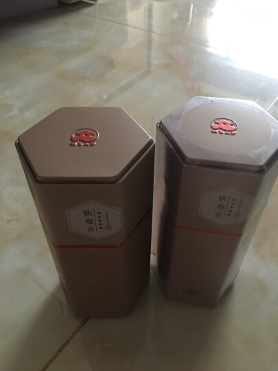 安溪铁观音茶叶 特级铁观音乌龙茶 桐木人家 铁罐装500克 晒单图