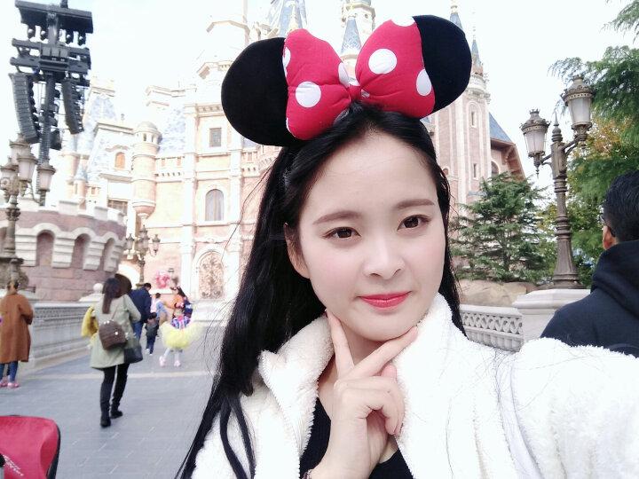 迪士尼(Disney) 毛绒玩具 米老鼠女生头箍 米妮蝴蝶结发箍生日情人节女生卡通头饰礼物 晒单图