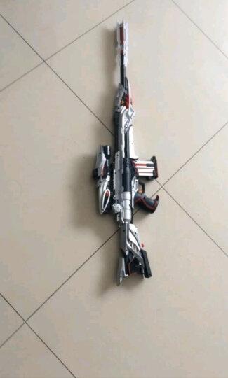 玩具枪吃鸡同款AWM仿真模型M24儿童玩具98K巴雷特加特林 大号AWM(送三级头+八倍镜+平底锅) 官方标配 晒单图
