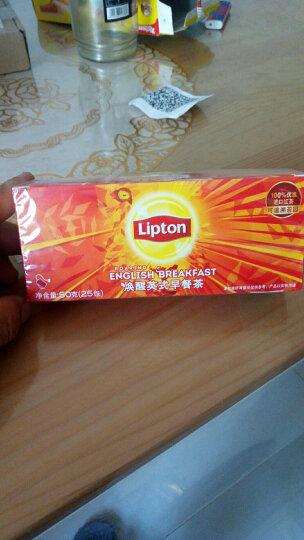 立顿Lipton  红茶 经典英式早餐红茶叶冲饮袋泡茶包2g*25 晒单图