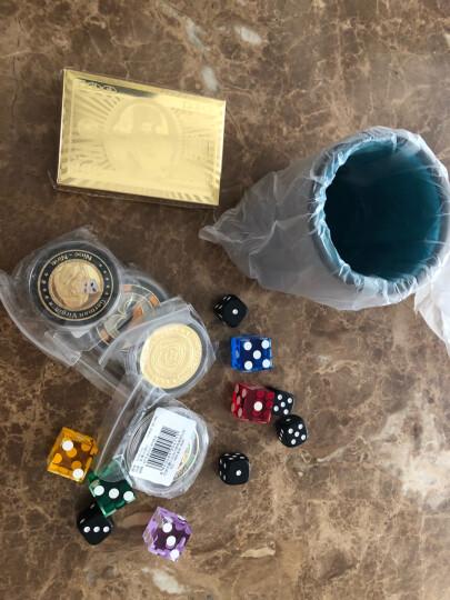 游戏大陆(gameland)德州扑克压牌器压牌片金属GL053 心形POKER镂空 晒单图